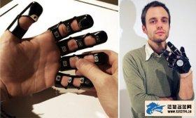 美设计师推出Glove One手机 佩戴如手套